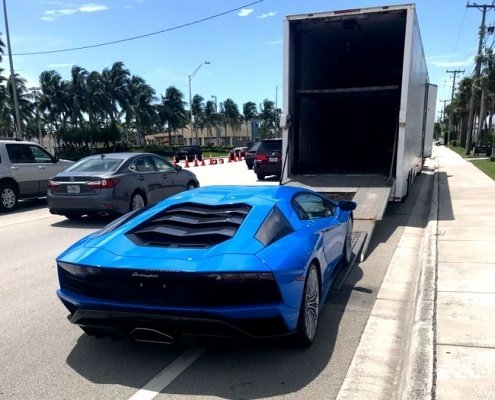 Exotic Car Shipping, enclosed cat transport, we will transport it car dealership