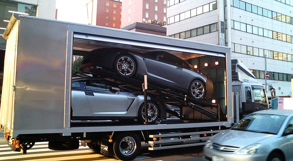 enclosed car transport