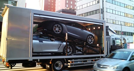 enclosed vehicle transport services