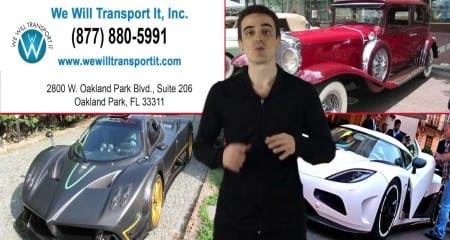 Exotic Car Transportation Tips