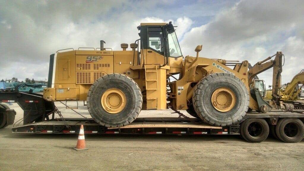 getting oversized equipment transported oversized equipment