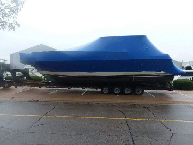 We will transport it, getting your boat ready for spring boating season
