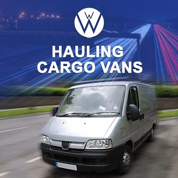 Hauling Cargo Vans, we will transport it