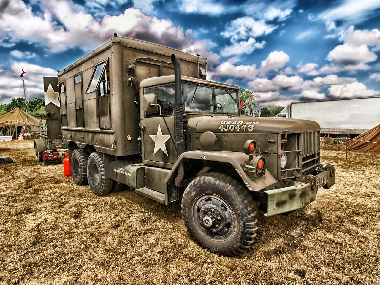 Military Vehicle Hauling