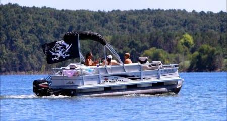 pontoon transport