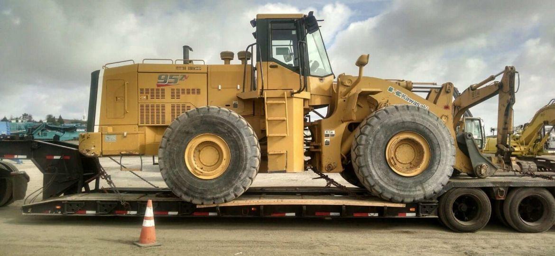 We will transport it, ship heavy equipment