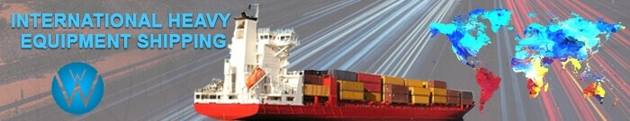 International Heavy Equipment Shipping