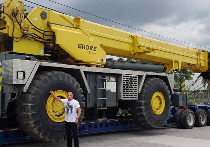 We Will Tansport It, Heavy Equipment shipping