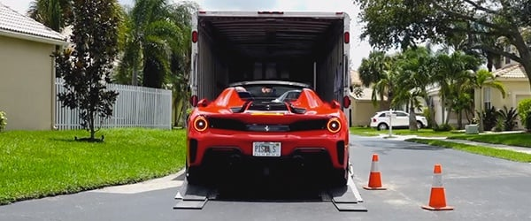 Car shipping company with We Will Transport It