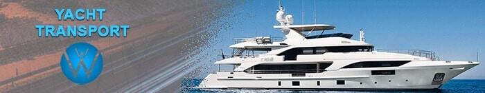 Yacht Transport, we will transport it