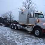 We will transport it, Winter Vehicle Transport winter transport
